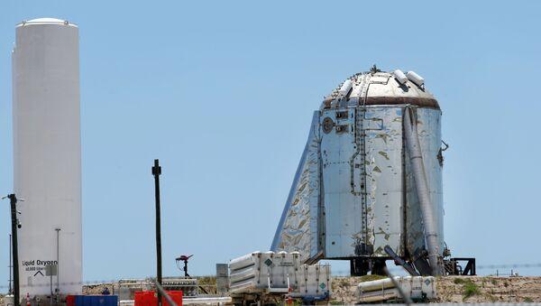 Il razzo Starhopper al poligono sperimentale Boca Chica Beach - Sputnik Italia