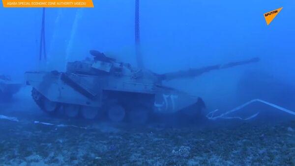 Museo militare subacqueo creato in Giordania - Sputnik Italia