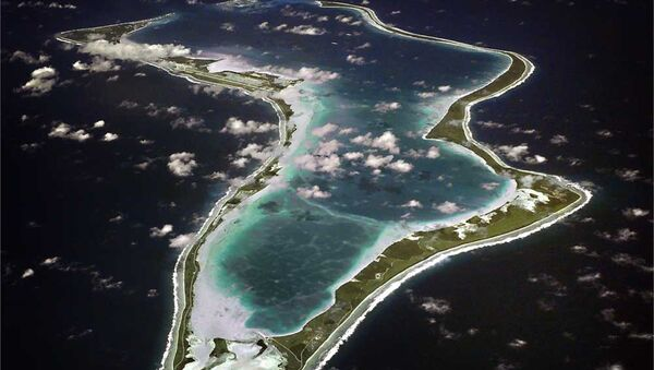 Isola Diego Garcia vista aerea - Sputnik Italia