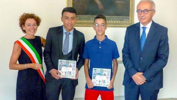 Conferimento della cittadinanza italiana a Ramy e Adam - Sputnik Italia