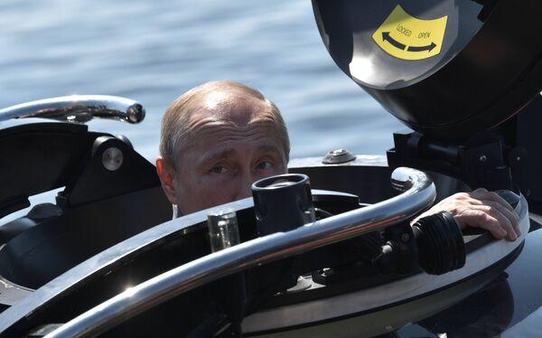 Direi che le impressioni sono brillanti, ha detto ai giornalisti quando è uscito dal batiscafo. - Sputnik Italia