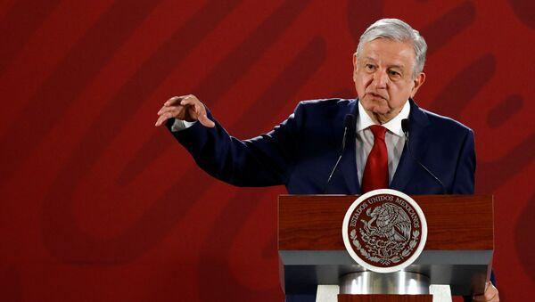 Andrés Manuel López Obrador, presidente del Messico - Sputnik Italia