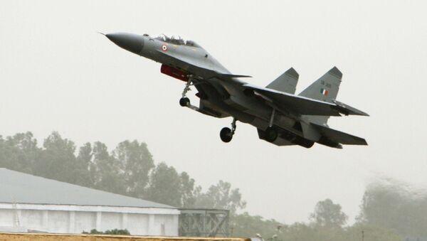 Il caccia Su-30MKI dell'aeronautica indiana. - Sputnik Italia