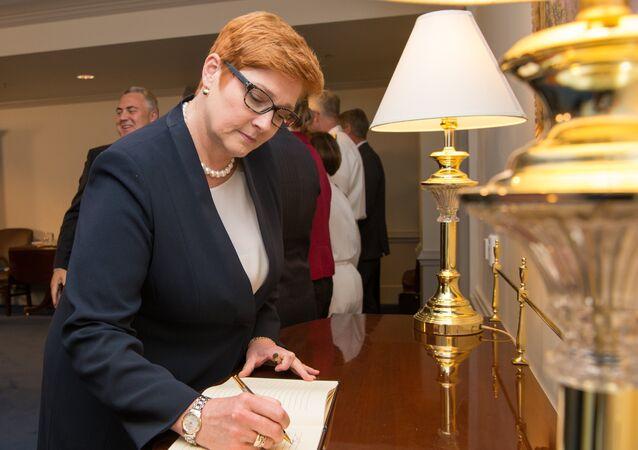 Ministra degli Esteri australiana Marise Payne