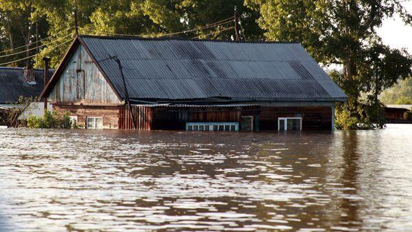 Inondazione a Tulun, Russia - Sputnik Italia
