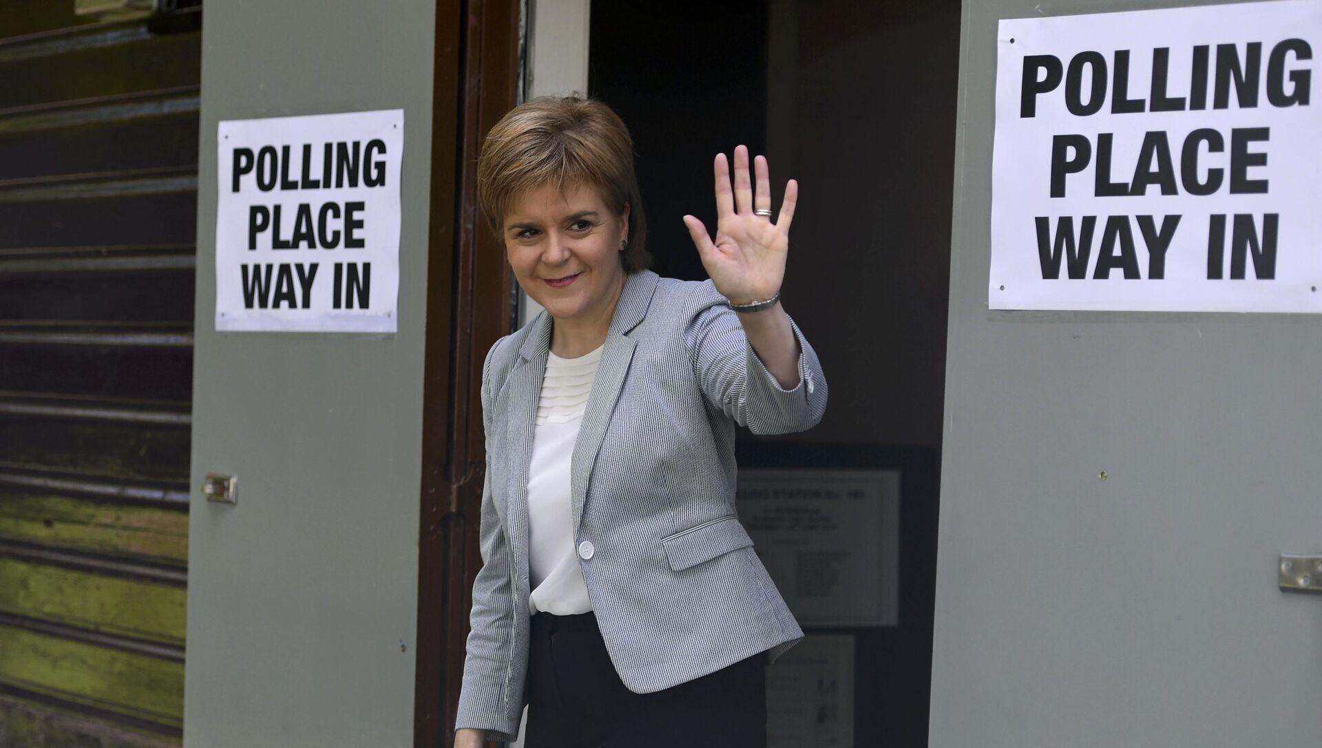 Il primo ministro della Scozia Nicola Sturgeon - Sputnik Italia, 1920, 18.05.2021