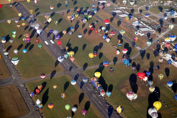 L'aerodromo di Chambley, situato a 30 km da Metz, ospita ogni due anni il Lorraine Mondial Air Balloon Festival. - Sputnik Italia