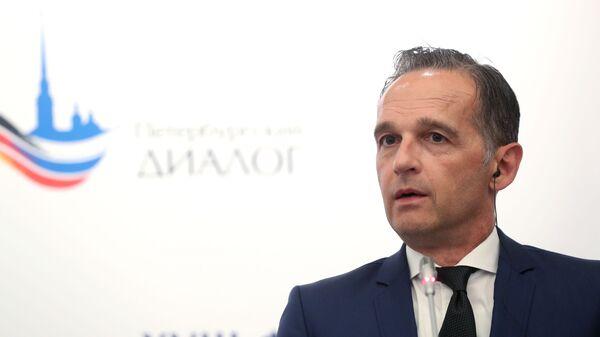 Il ministro degli Esteri Heiko Maas - Sputnik Italia