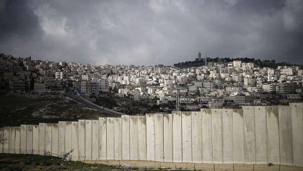 La barriera tra Palestina a Gerusalemme - Sputnik Italia