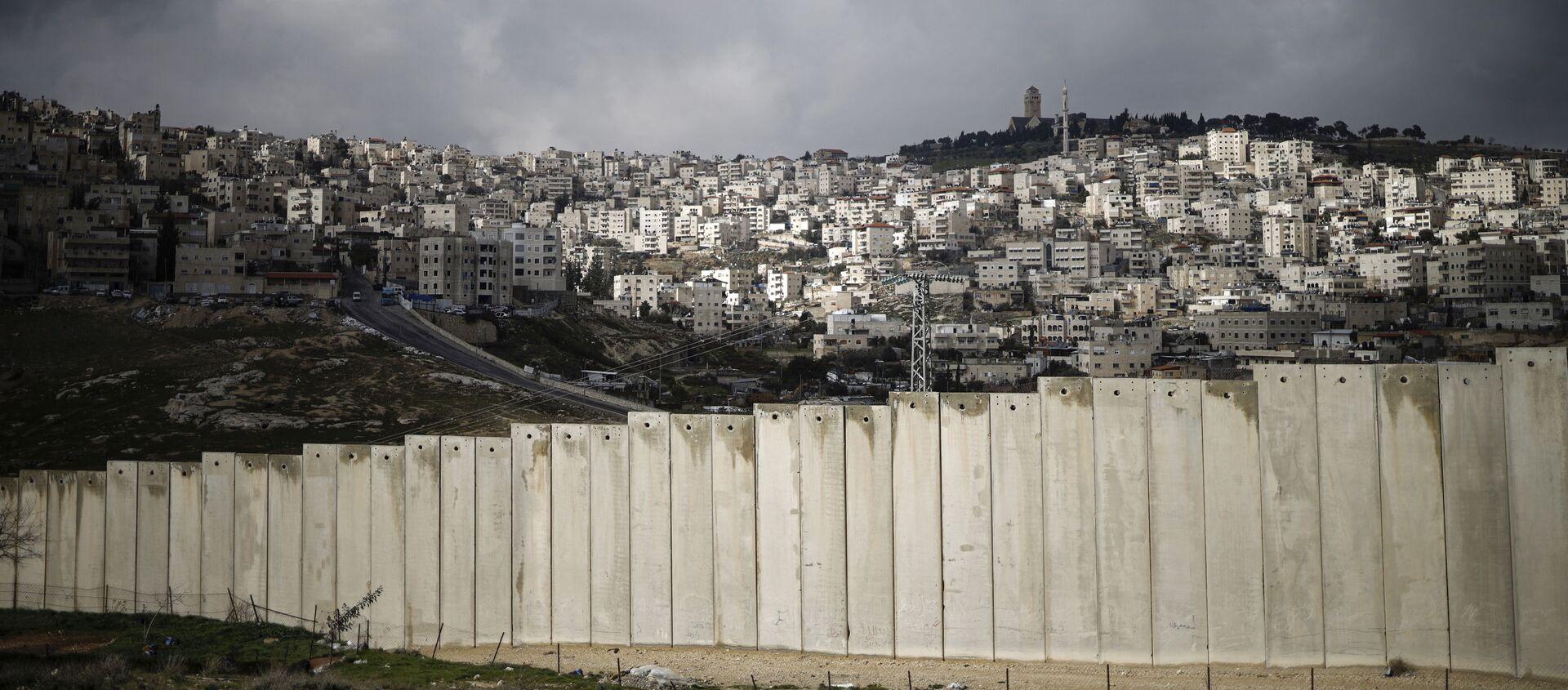 La barriera tra Palestina a Gerusalemme - Sputnik Italia, 1920, 16.01.2021