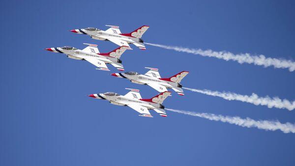 Caccia USA F-16 - Sputnik Italia