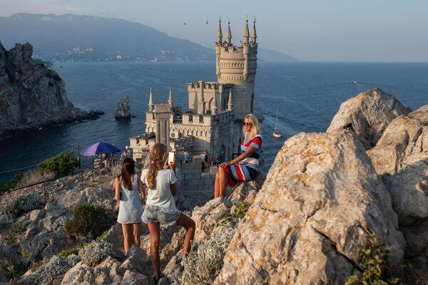 Il Nido di rondine in Crimea. - Sputnik Italia