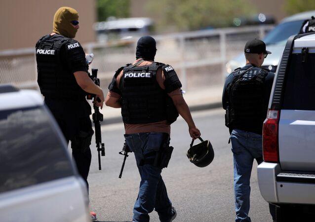 Poliziotti americani