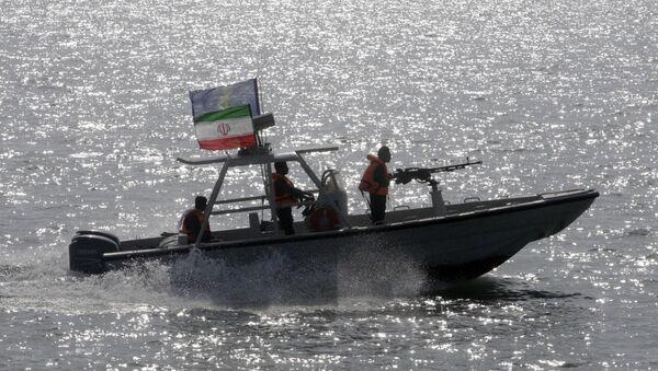 Il motoscafo del Corpo della Guardia Rivoluzionaria Iraniana - Sputnik Italia