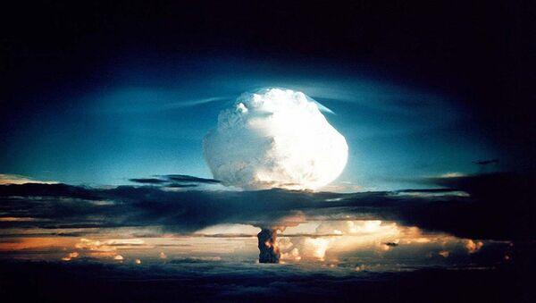 Un test della bomba negli Usa - Sputnik Italia