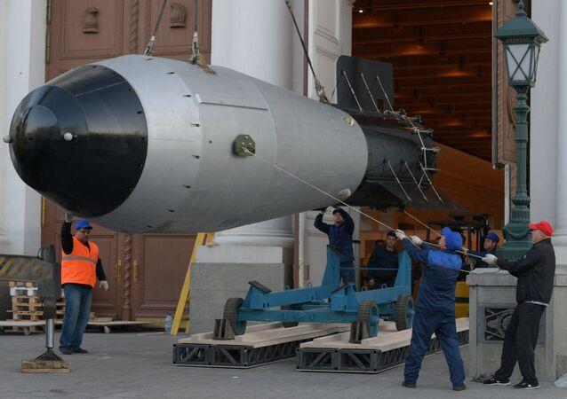 Modello della Bomba Zar (foto d'archivio)