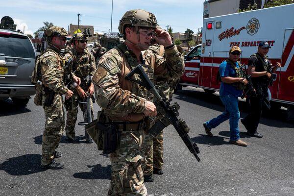 Le autorità ritengono che il massacro in Texas sia un attacco di motivazione prevalentemente razziale. - Sputnik Italia