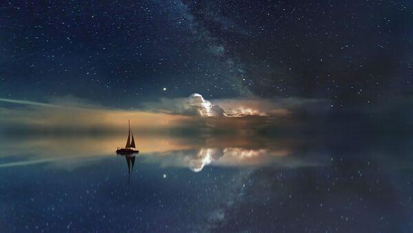 La Via Lattea sull'Oceano - Sputnik Italia