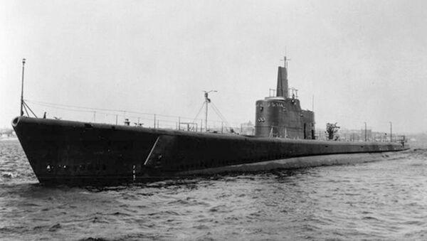 Il sottomarino statunitense USS Grunion, scomparso nelle acque del Pacifico durante la Seconda Guerra Mondiale - Sputnik Italia