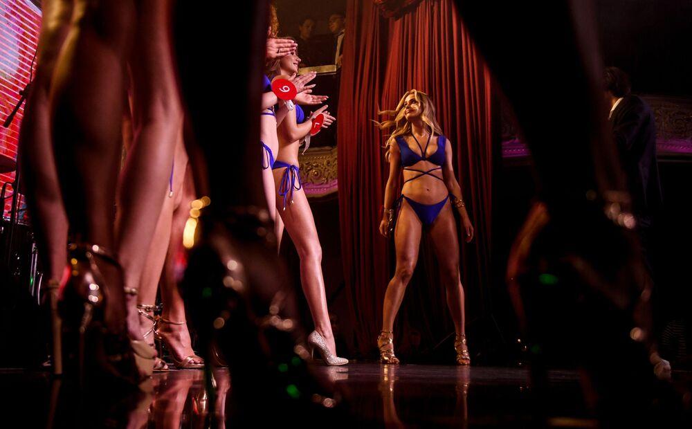 Il concorso di bellezza Miss MAXIM 2019 a Mosca.