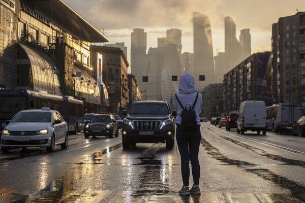 La vista sul Moscow-City, quartiere d'affari famoso della capitale russa. - Sputnik Italia
