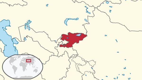 Kirghizistan, locazione schematica - Sputnik Italia