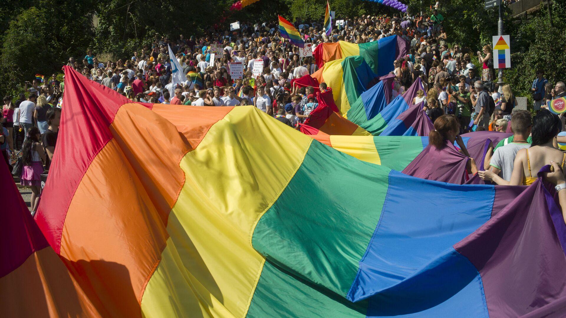 Gay Pride a Praga, Repubblica Ceca - Sputnik Italia, 1920, 01.07.2021