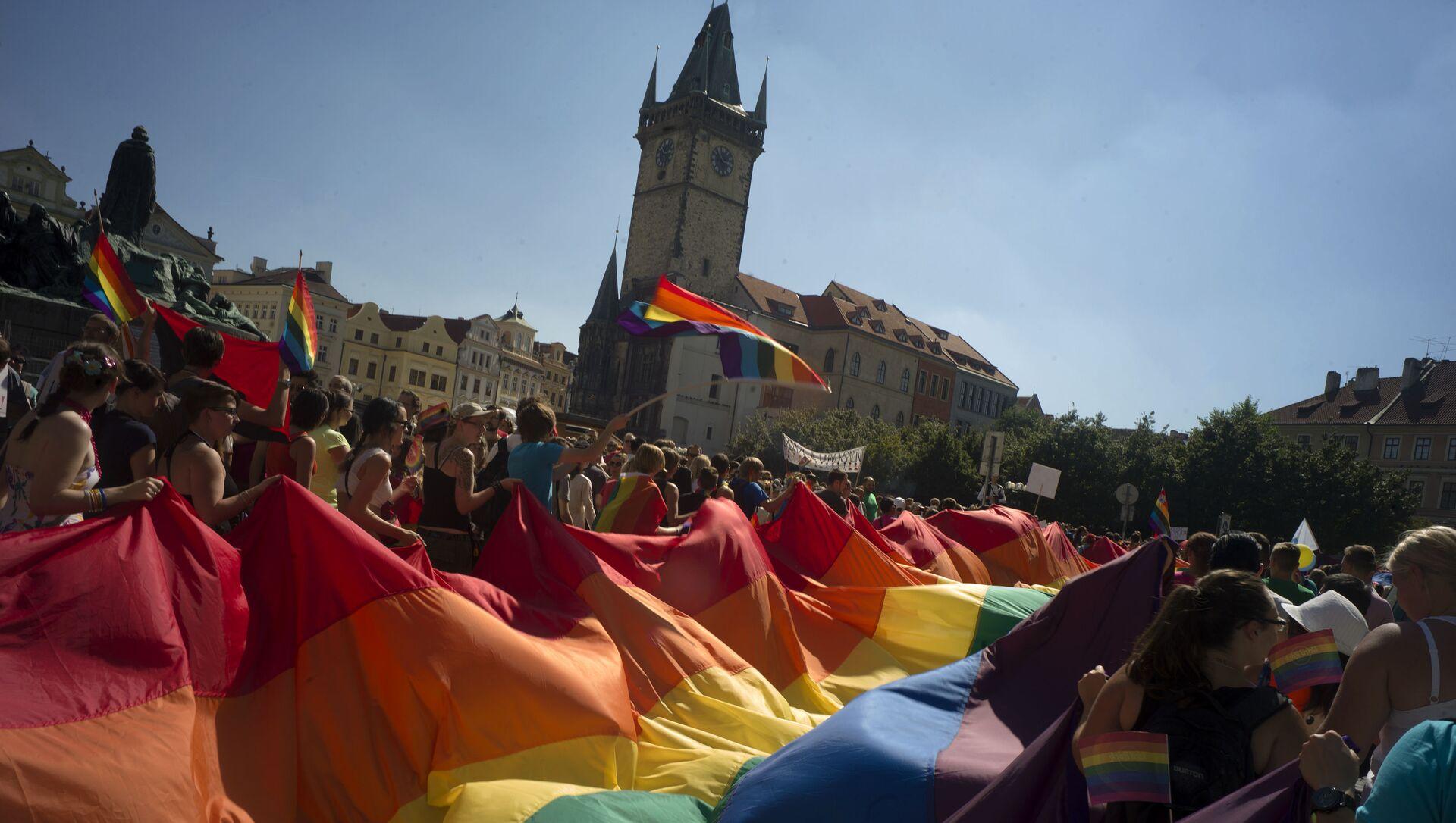 Gay Pride a Praga, Repubblica Ceca - Sputnik Italia, 1920, 16.05.2021