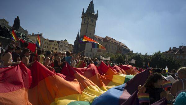 Gay Pride a Praga, Repubblica Ceca - Sputnik Italia