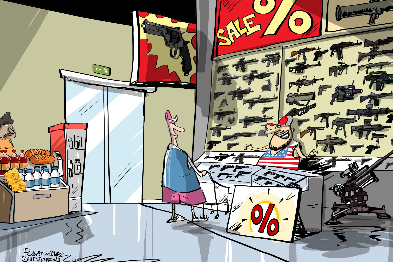 Il problema delle armi negli USA