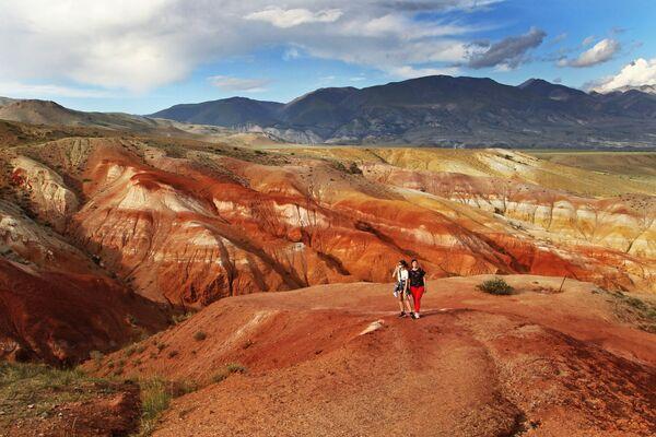 Questi turisti in cuor loro possono dire di essere stati su Marte - Sputnik Italia