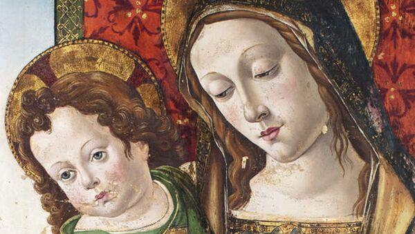 La Madonna col Bambino del Pinturicchio - Sputnik Italia