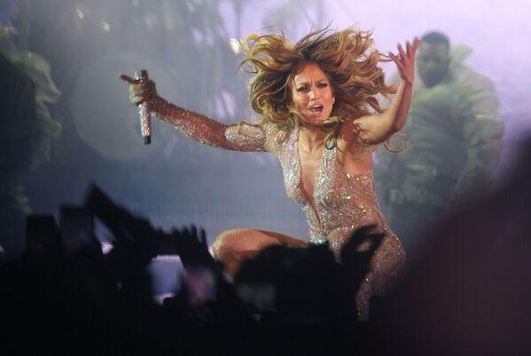 La cantante americana Jennifer Lopez in concerto a Mosca il 4 agosto - Sputnik Italia