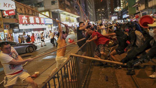 Le proteste a Hong Kong - Sputnik Italia