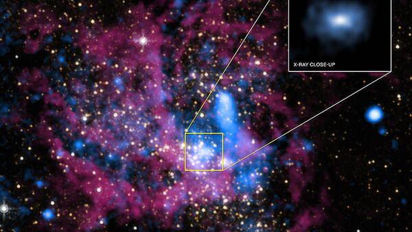Il buco nero supermassiccio Sagittarius A*, al centro della Via Lattea - Sputnik Italia