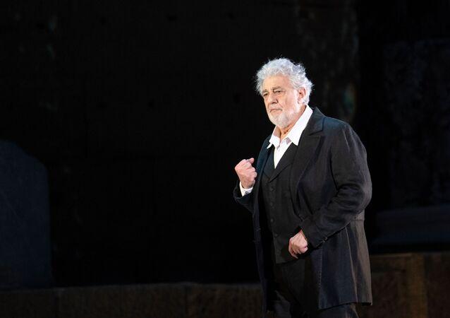 Il tenore spagnolo Plácido Domingo