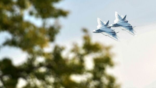 Caccia multiruolo Su-57 - Sputnik Italia