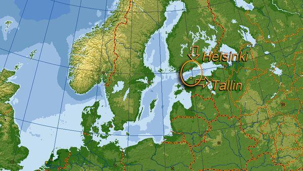 Tunnel sottomarino Finlandia Estonia - Sputnik Italia