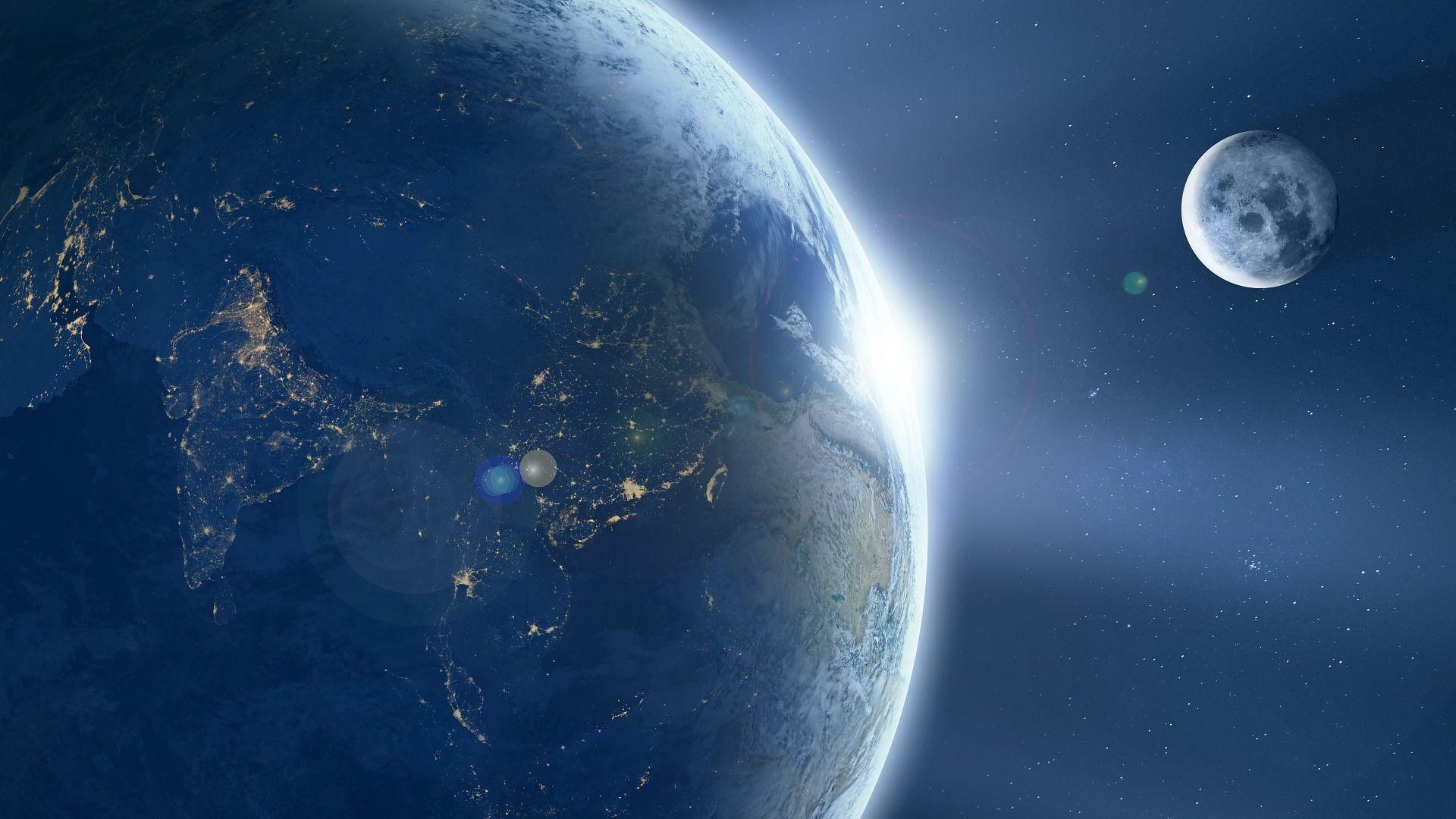 Il pianeta Terra e la Luna - Sputnik Italia, 1920, 02.03.2021