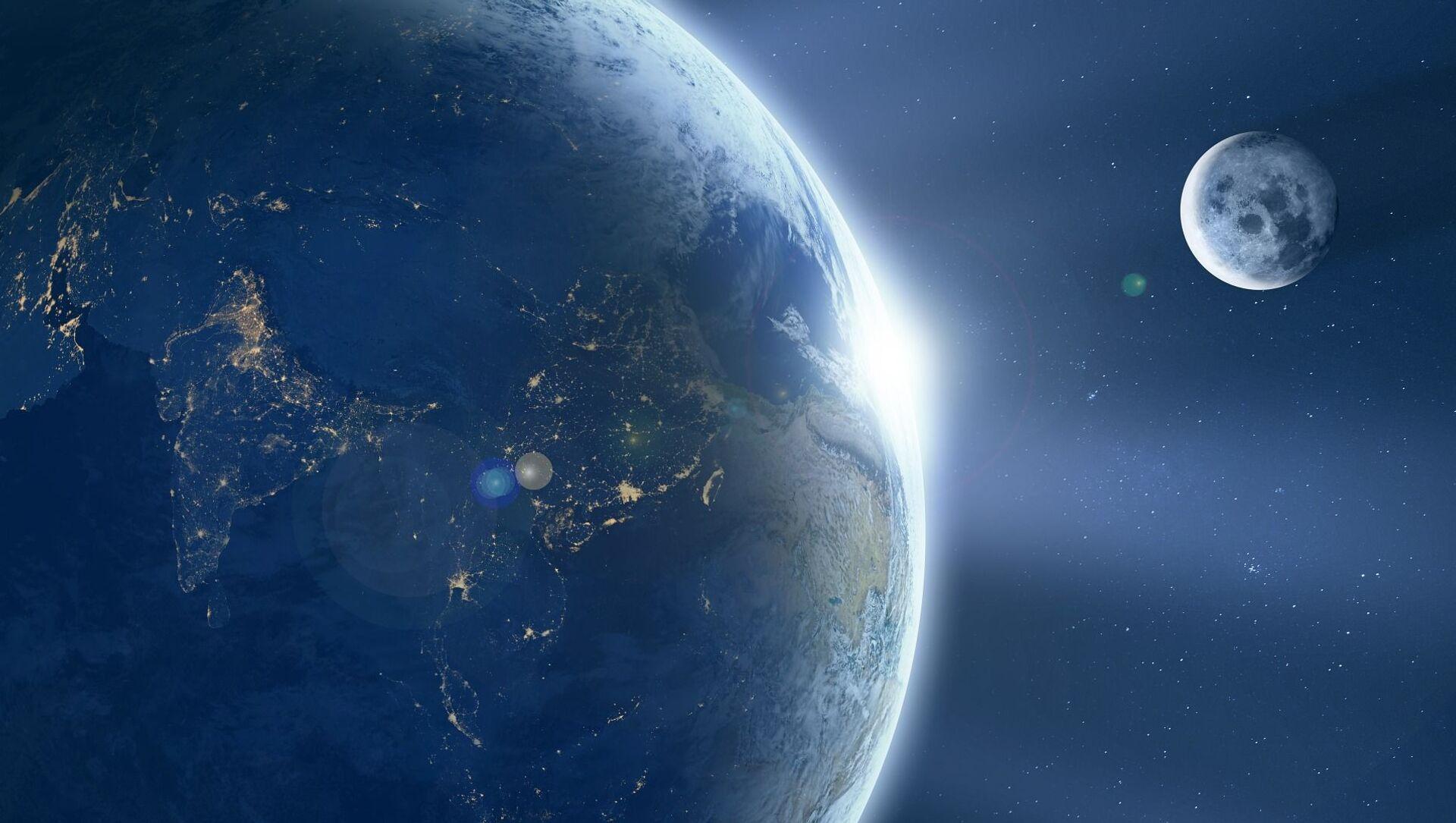 Il pianeta Terra e la Luna - Sputnik Italia, 1920, 10.03.2021