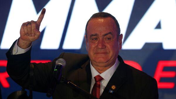Alejandro Giammattei, il presidente di Guatemala - Sputnik Italia