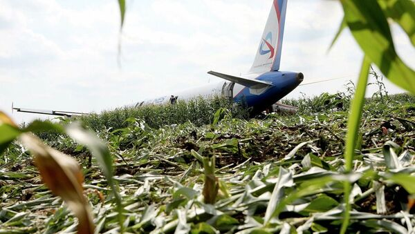 L'atterraggio d'emergenza a Mosca - Sputnik Italia