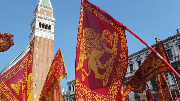 Manifestazione dei venetisti a Venezia - Sputnik Italia