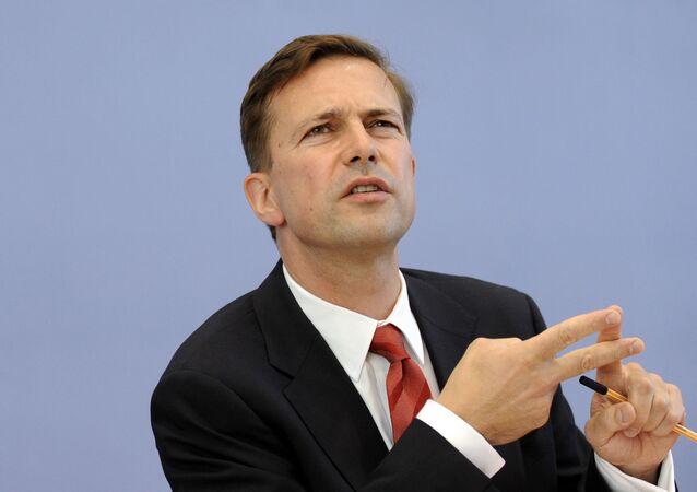 Steffen Seibert, portavoce del governo tedesco