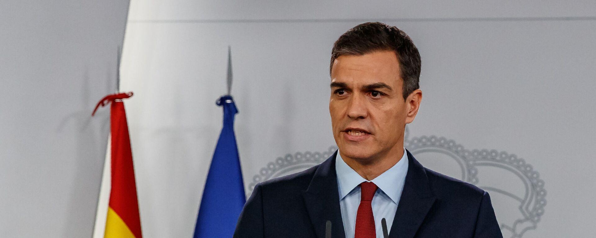 Premier ad interim spagnolo Pedro Sanchez - Sputnik Italia, 1920, 09.06.2021