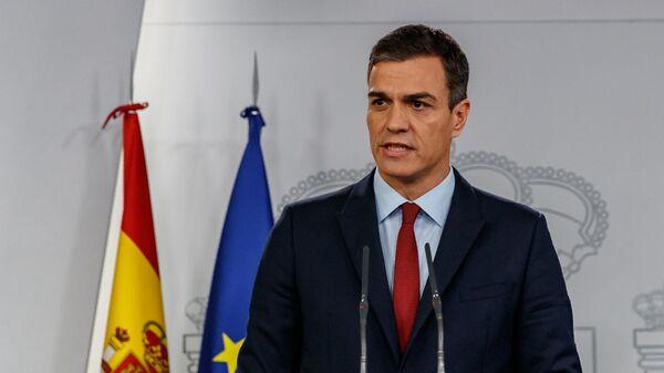Premier ad interim spagnolo Pedro Sanchez - Sputnik Italia