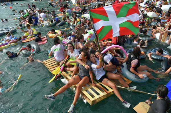 Il festival Pirata Abordaia a San Sebastian, nei Paesi Bassi - Sputnik Italia
