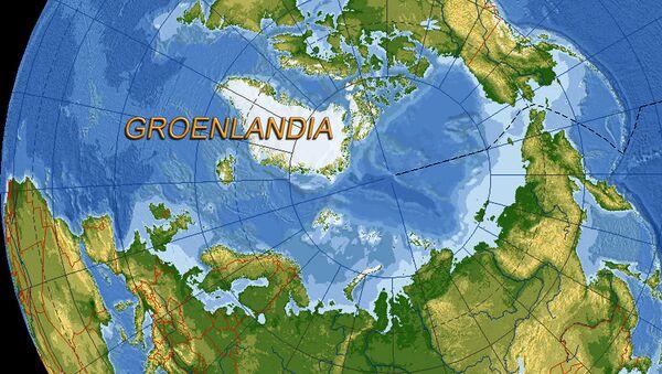 Groenlandia posizione sulla mappa - Sputnik Italia