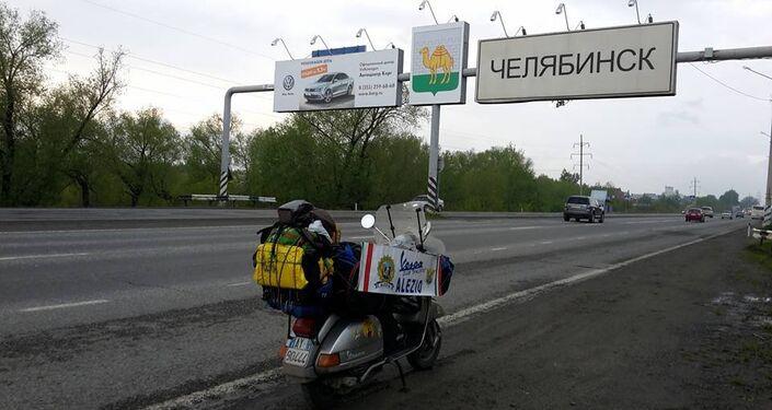 Prima dell'arrivo a Chelyabinsk