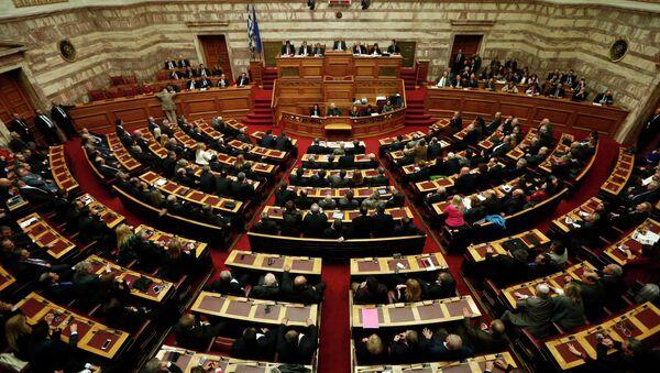 Il parlamento della Grecia - Sputnik Italia